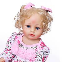 Кукла реборн 53 см полностью виниловая девочка Лолита