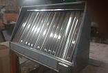 Зонт пристенный с жироулавлевателями 1500х800х400, фото 6