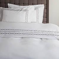 Набор постельного белья Penelope - Anya beyaz белый евро