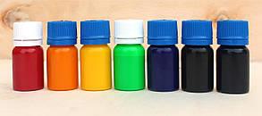 Красный краситель для пластика, силикона, эпоксидной смолы, полиуретанов, универсальный (15 г)