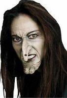 Накладной нос ведьмы с бородавкой (аксессуар на Хэллоуин)