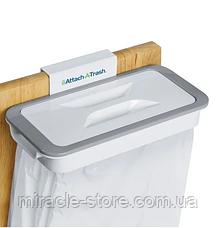 Відро для сміття Attach-A-Trash навісний тримач мішка для сміття, фото 3