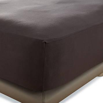 Простынь на резинке Penelope - Tender dark grey 160*200+40