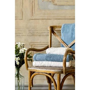 Набор полотенец Karaca Home - Trella krem-mavi 2020-1 50*90+85*150