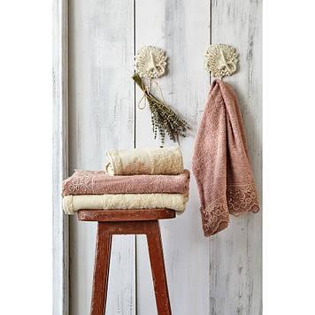 Набор полотенец Karaca Home - Valeria G.kurusu 2020-2 50*90+85*150
