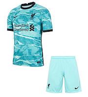 Футбольная форма ФК Ливерпуль (FC Liverpool) 2020-2021 Выездная детская