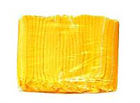 Шапочка одноразовая клип-берет гармошка Sangig (100 шт в уп) Оранжевый