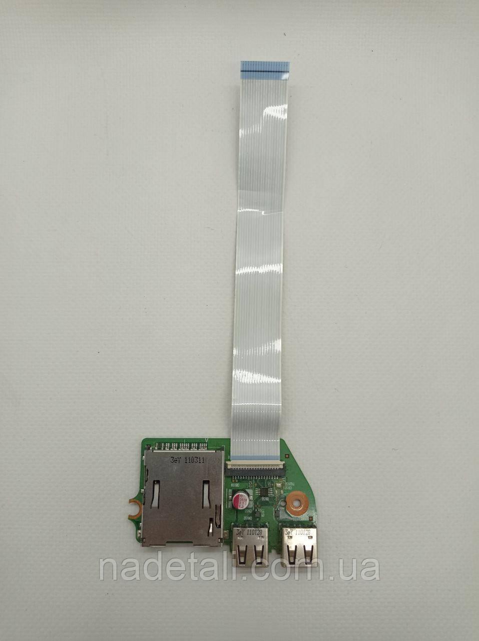 Плата USB Toshiba Satellite L650 6050A2335001