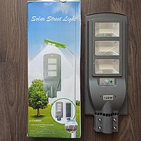 Светодиодный уличный светильник на солнечной батарее LED Solar Street Light 120W all-in-one