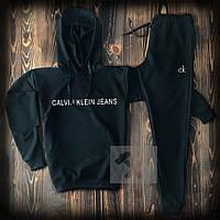 Мужской черный спортивный костюм в стиле Calvin Klein, фото 1
