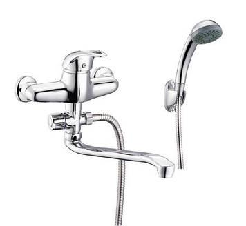 Смеситель для ванной с поворотным изливом ZEGOR  NHK6-C048