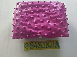 Мяч для фитнеса (фитбол) массажный 65см, цвета в ассортименте