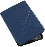 Чехол PocketBook 632 Touch HD 3 трансформер — синяя обложка на Покетбук