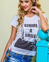 Молодежная футболка | Подтяжки s-m