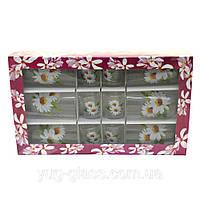 """Набор """"Эдельвейс"""" цветы в ассортименте 12 предметный., фото 1"""