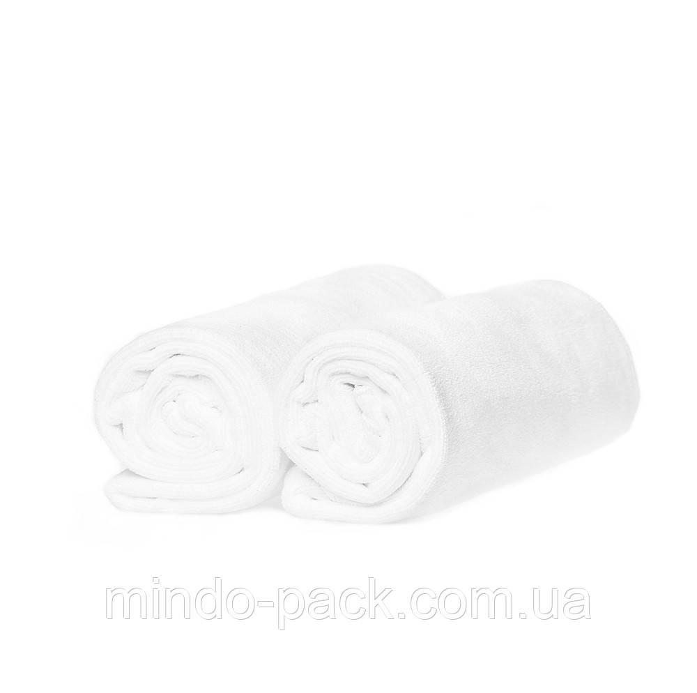 Полотенце для нетравматичной сушки волос из микрофибры (белый)