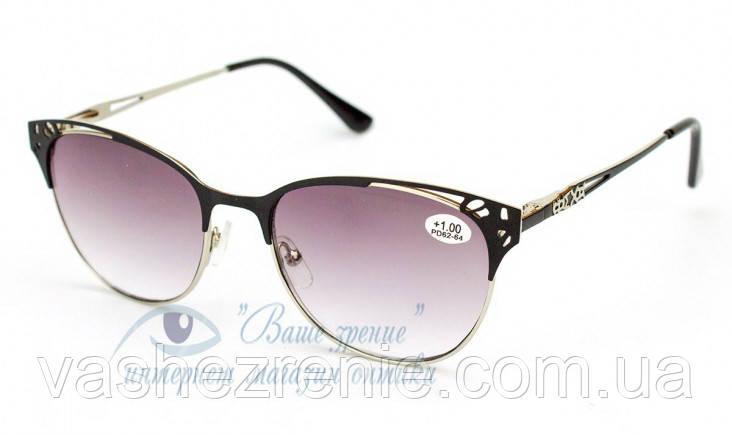 Очки женские для зрения +/- Код:2832