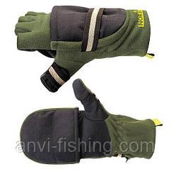 Перчатки-варежки ветрозащитные  отстёгивающиеся  NORFIN 703080 Размер L