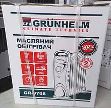 Масляний обігрівач Grunhelm GR-0708 MINI