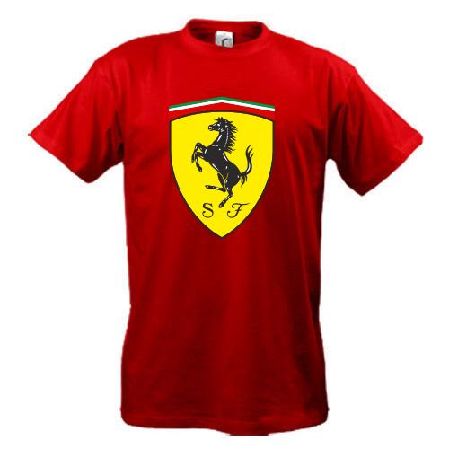 b747e5768851 Футболка Ferrari, цена 315 грн., купить в Днепре — Prom.ua (ID ...