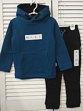 Спортивный костюм ФЛИС для мальчика Темно-синий р. 110, 116