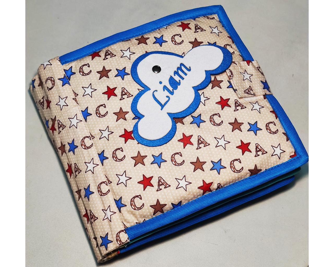 Развивающая Mягкая Книжка из Фетра, Мягкая текстильная книжка handmade (RB01045)