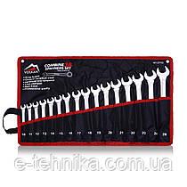 Набір комбінованих ключів Vulkan 10-26 мм, 16 шт в чохлі