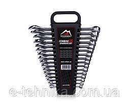 Набір комбінованих ключів Vulkan 10-26 мм, 16 шт в футлярі