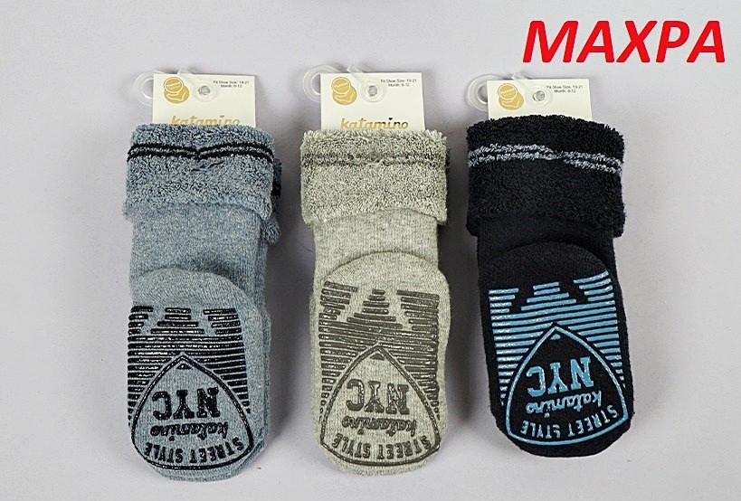 Махровые носки с тормозами 0-6 мес ТМ Arti Турция оптом