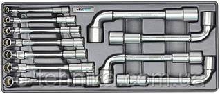 Набір торцевих ключів Whirlpower 8-19 мм, 11 шт, ложемент