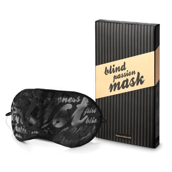 Маска для глаз Bijoux Indiscrets Blind Passion Mask