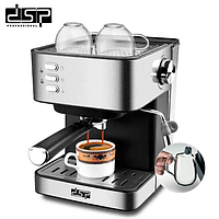 Кофемашина полуавтомат DSP Espresso Coffee Maker KA 3028 с капучинатором
