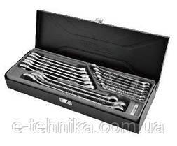 Набір комбінованих ключів Whirlpower 6-24 мм, 16 шт в футлярі