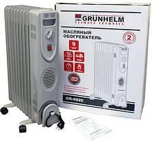 Масляний обігрівач Grunhelm GR-0920