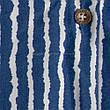 Туника-платье синее в белую полоску oversize - 405-48, фото 6