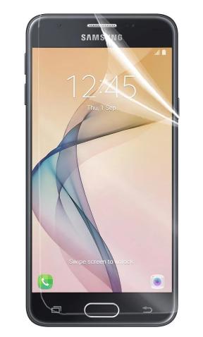 Гидрогелевая защитная пленка на Samsung Galaxy J5 Prime на весь экран прозрачная
