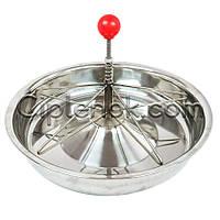 Годівниця (миска) для поросят (35 см) нержавіюча сталь