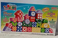 """Конструктор развивающие кубики """"играй и создавай"""" 6201"""