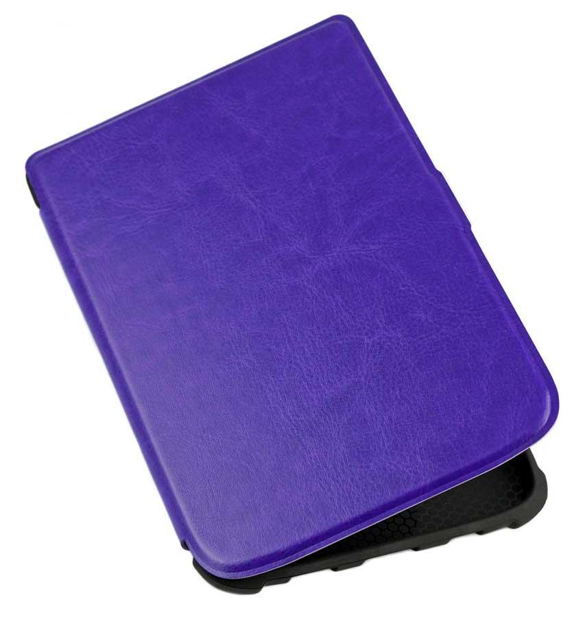 Чехол для PocketBook 628 Touch Lux 5 фиолетовый – обложка электронной книги Покетбук