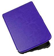 Чехол для PocketBook 628 Touch Lux 5 фиолетовый – обложка электронной книги Покетбук, фото 1