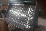 Зонт пристенный с жироулавлевателями 2400х800х400, фото 6