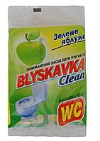 Освежающее средство для унитаза Blyskavka 40г зеленое яблоко