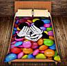 Плед с 3D принтом-Микки Маус и конфеты
