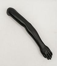 Манекен руки мужской до плеча черного цвета