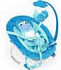 Детский шезлонг-качалка, с подвесками, Tilly, BT-BB-0002 Blue