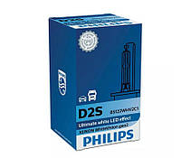 Лампа ксеноновая Philips 85122WHV2C1 D2S 85V 35W P32d-2 WhiteVis, фото 1