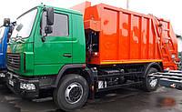 Мусоровоз с задней загрузкой КО-427-32 СБМ-304/1 на базе шасси МАЗ-5340