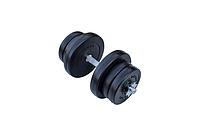 Композитна гантель RN-Sport 11,5 кг з грифом хром
