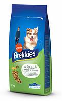 Сухой корм для взрослых собак всех пород Brekkies Dog Chicken / 20 кг