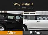 Хромированная накладка ручки двери Nissan Patrol Y62,  Armada 2010-2020, комплект 4шт, фото 7